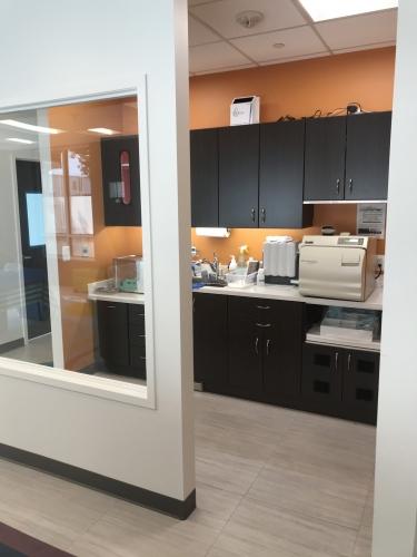 Sterilization area